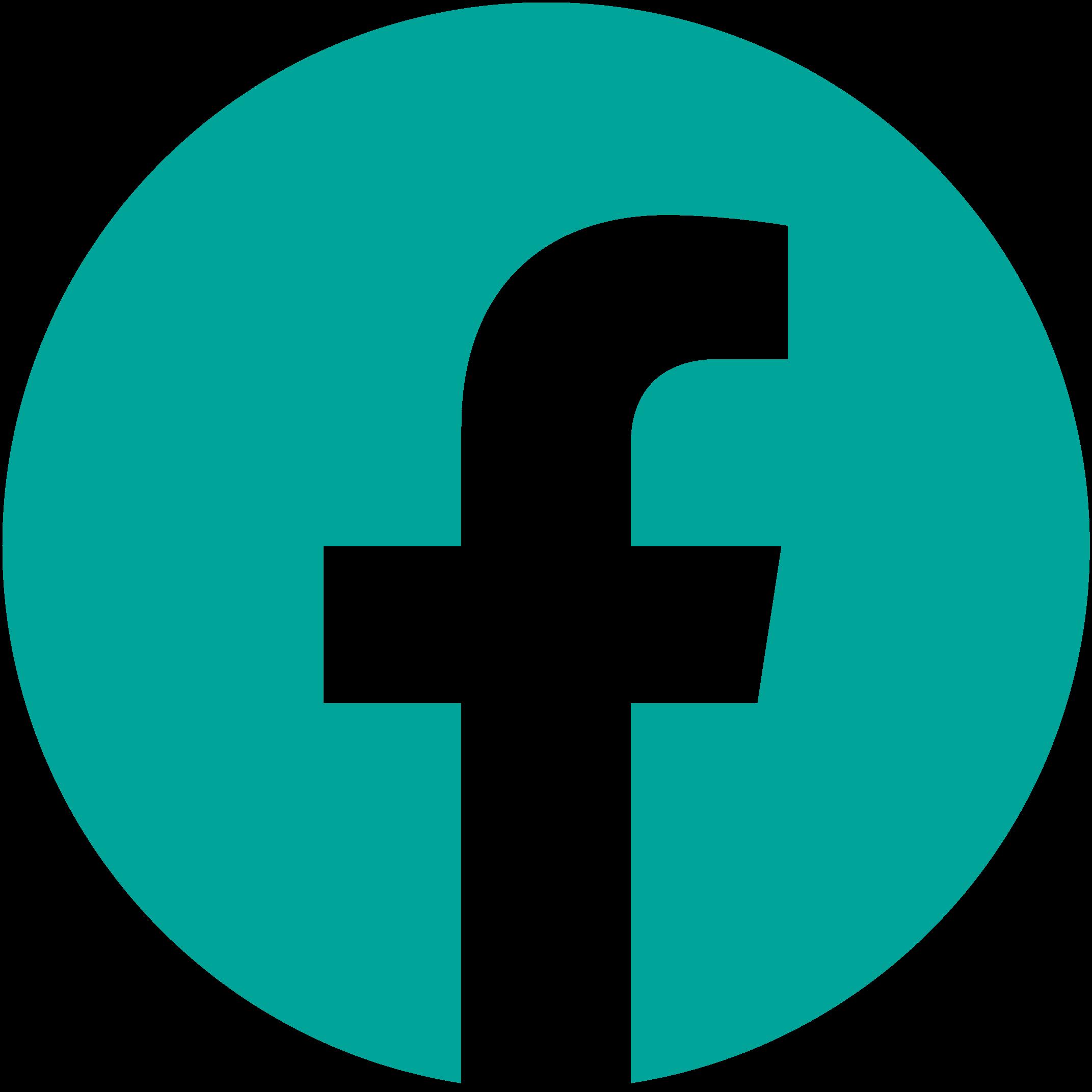 Facebook logo green