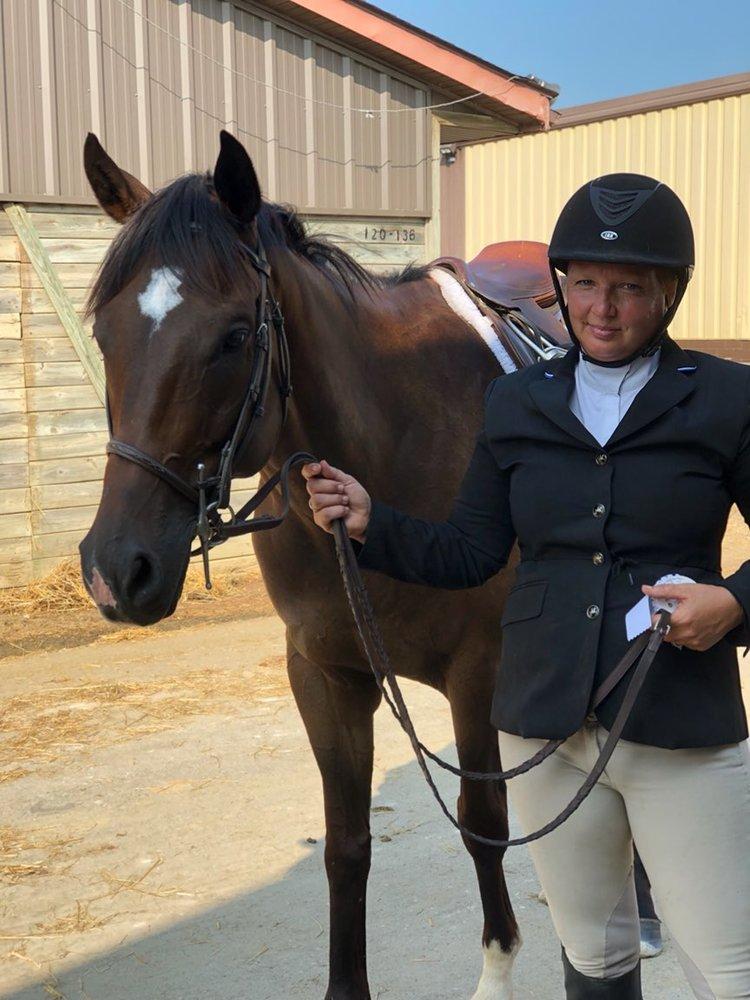 Angie & horse