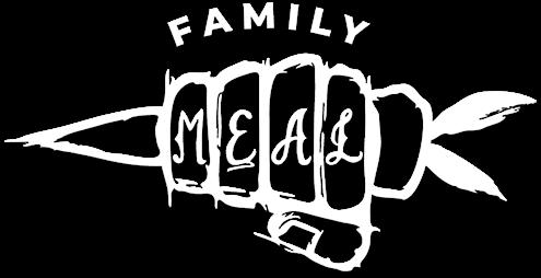 white Family Meal logo