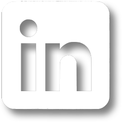 LinkedIn Icon (white) link