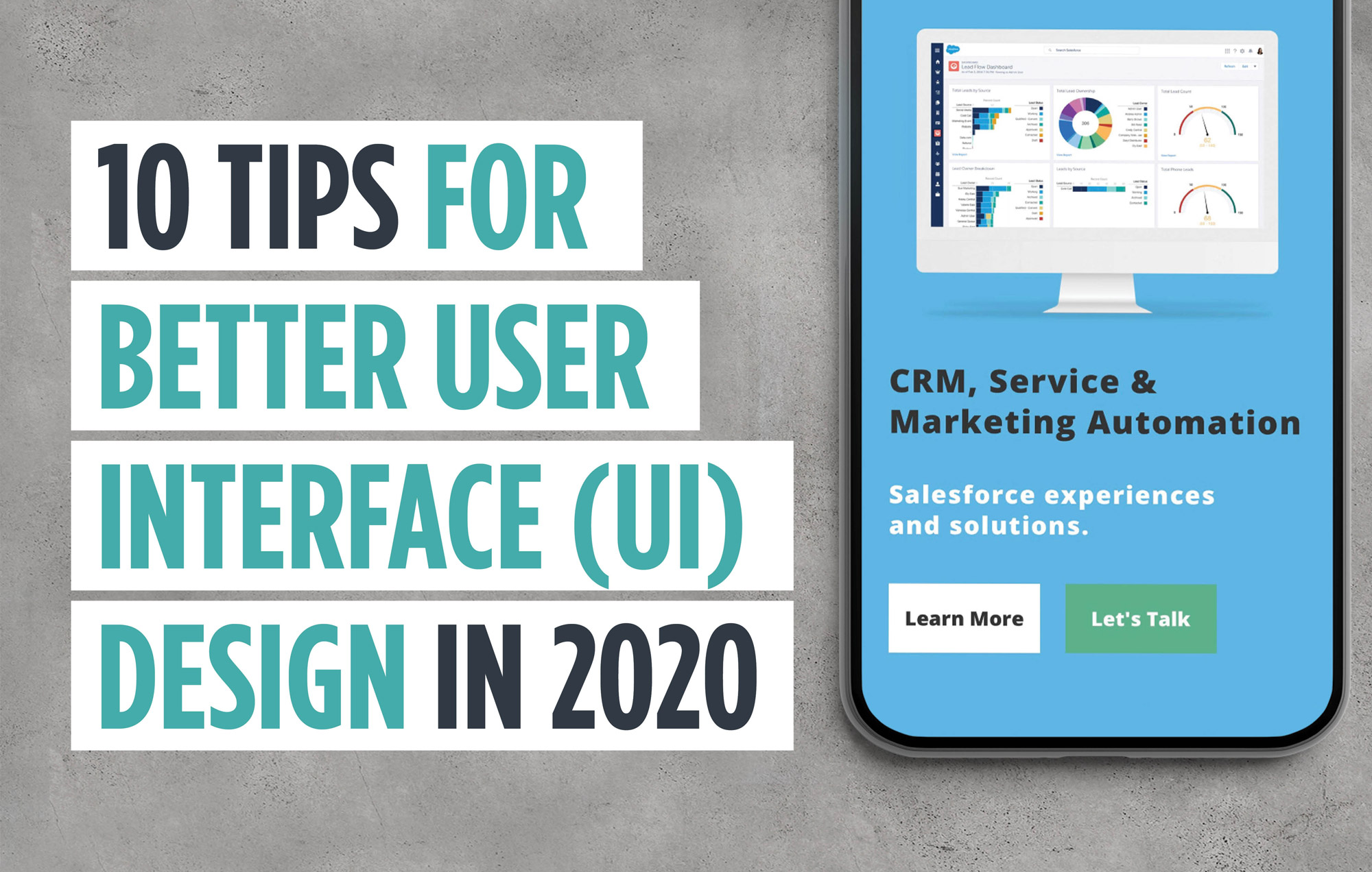 User Interface tips for 2020