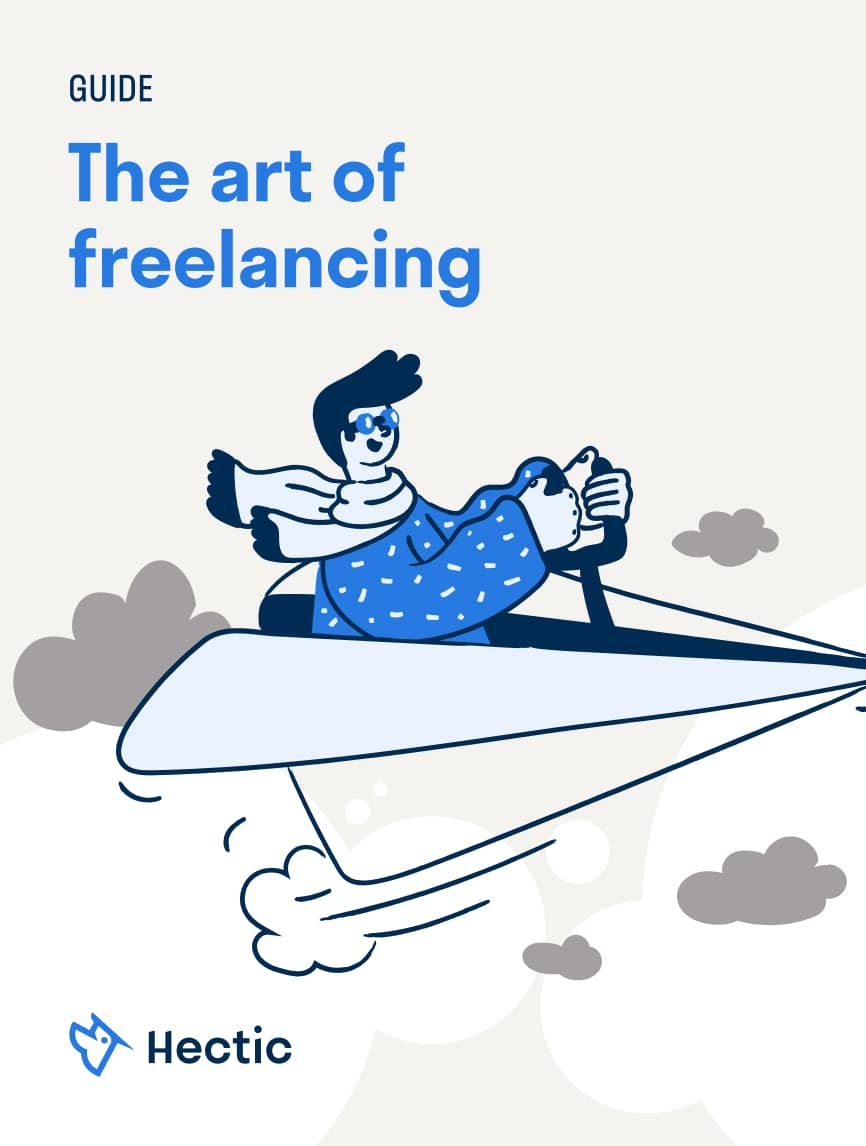 "Hectic Guide ""The art of freelancing"""