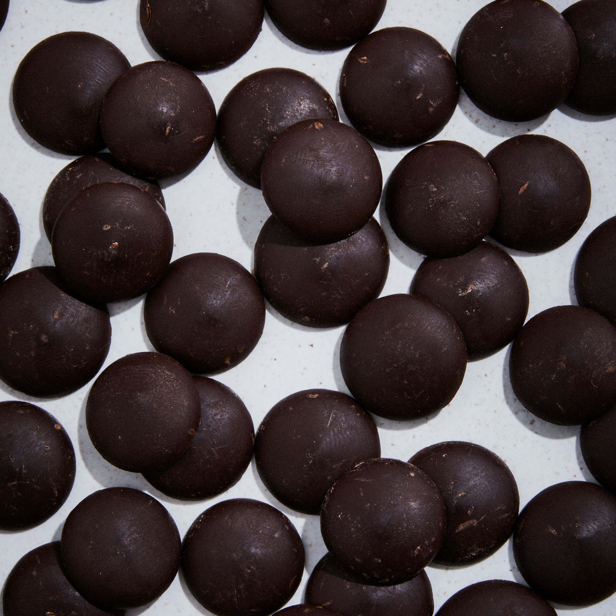Choklad mörk droppar 36/38