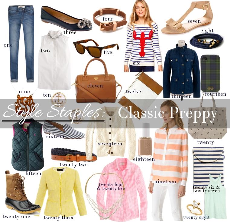 Style-Staples-Classic-Preppy