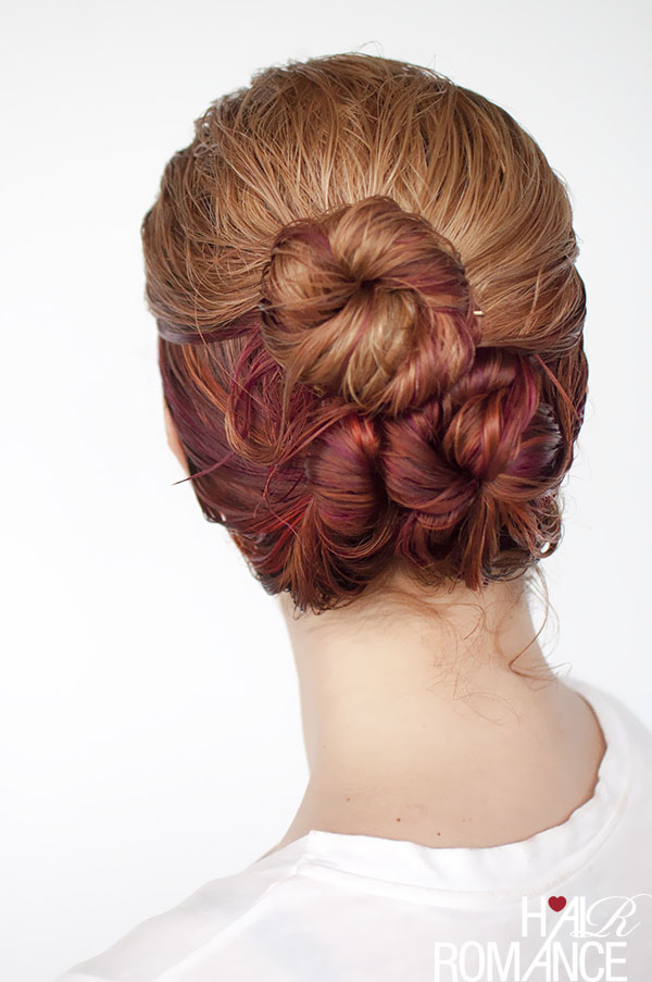 Hair-Romance-wet-hair-styles-the-loose-triple-bun