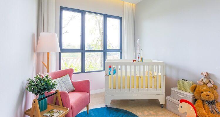 Phòng ngủ trẻ em căn hộ mẫu Palm Heights 2 phòng ngủ