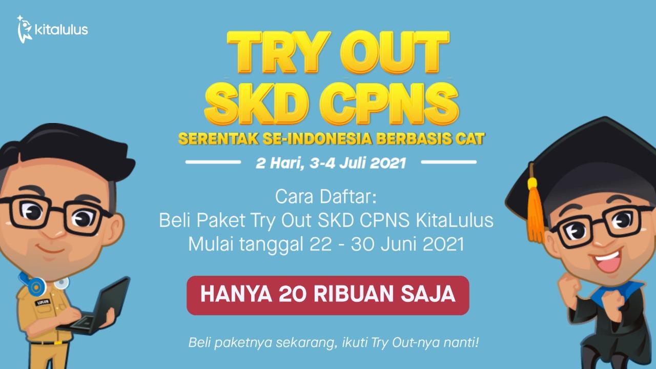 Try Out SKD CPNS Serentak KitaLulus