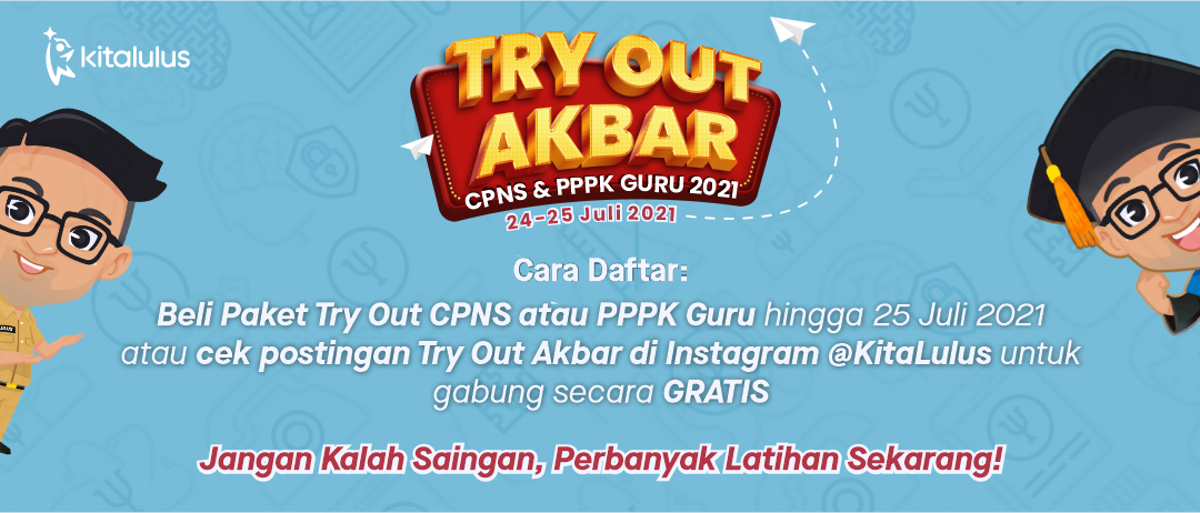 Try out CPNS 2021 akbar KitaLulus