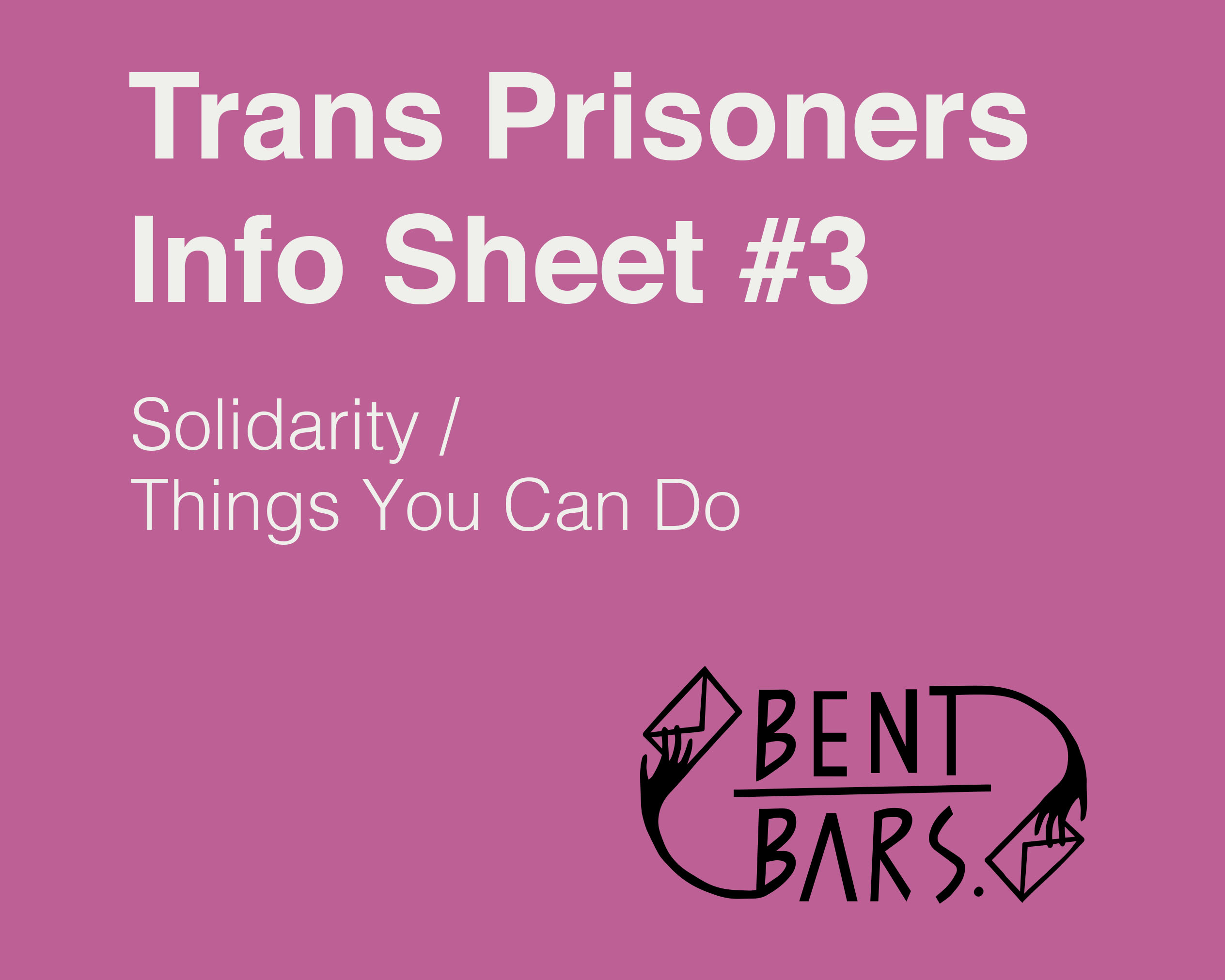 Trans Prisoner Info Sheet 3 page cover