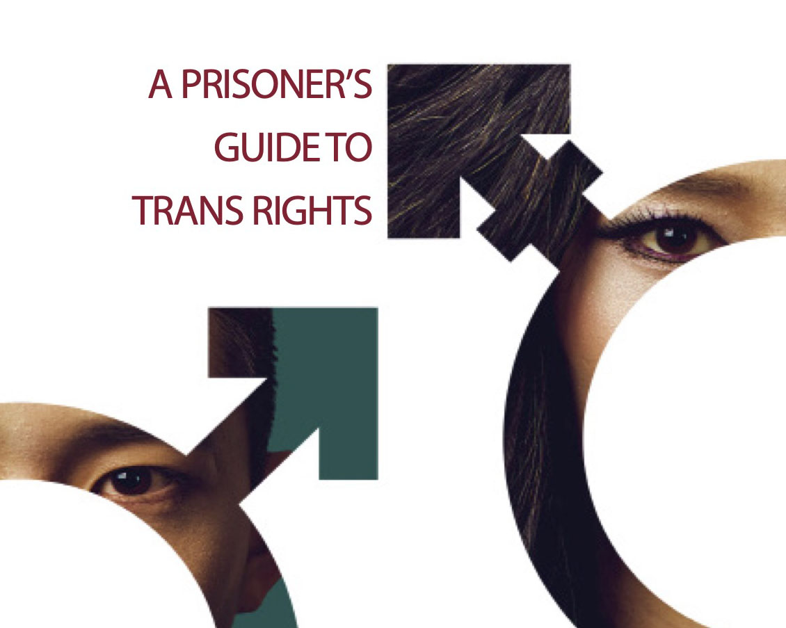 A Prisoner's Guide to Trans Rights page cover