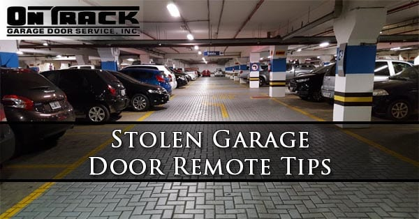 stolen-garage-door-remote-tips-phoenix-az
