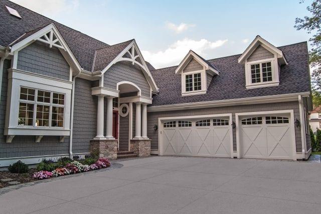CARRIAGE HOUSE OVERLAY GARAGE DOORS