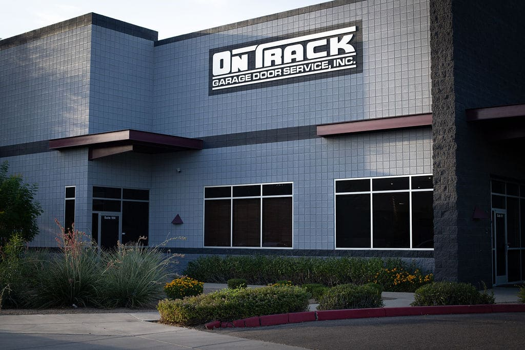 on track garage door service