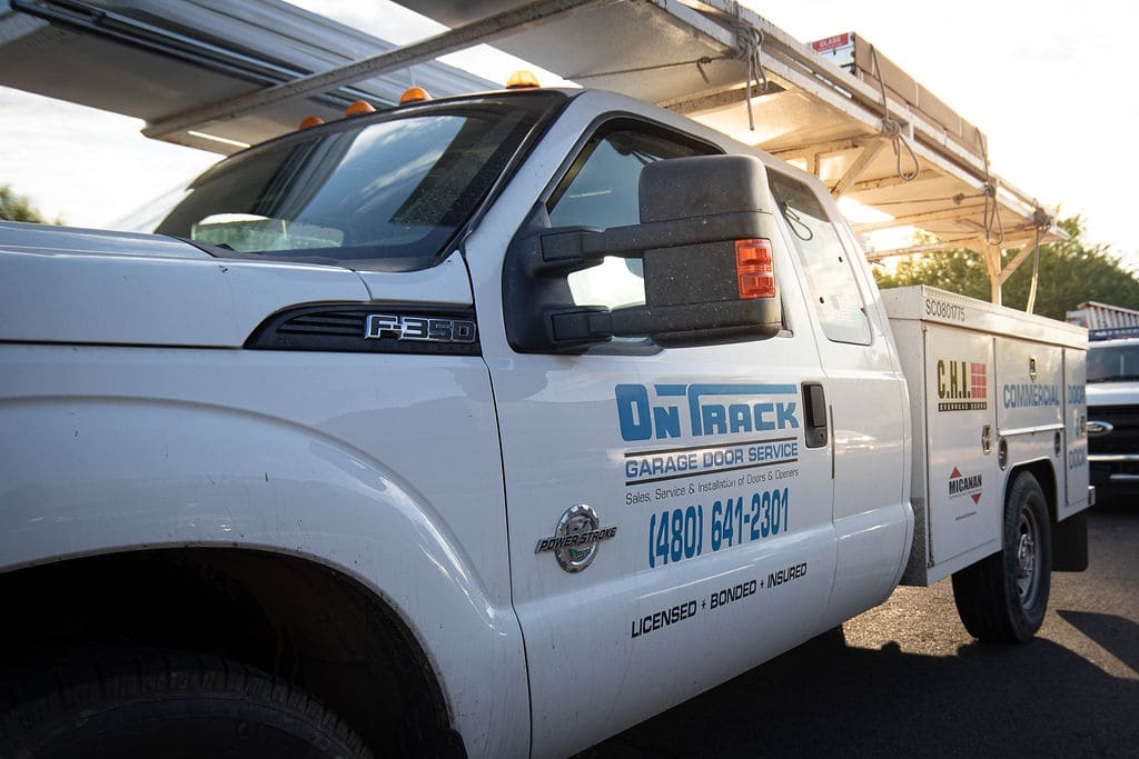 on track garage door service arizona