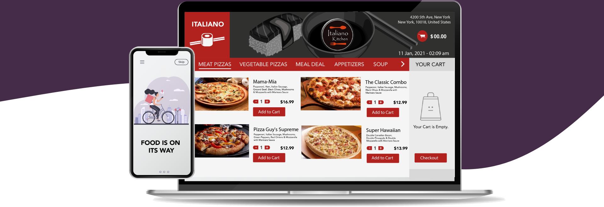 Online Food Order Website