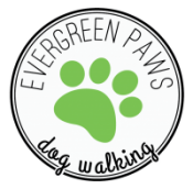 Evergreen Paws logo