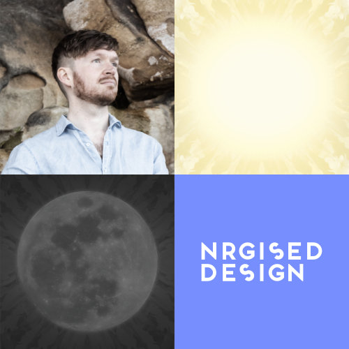 NRGISED DESIGN Matt Johnson brand image
