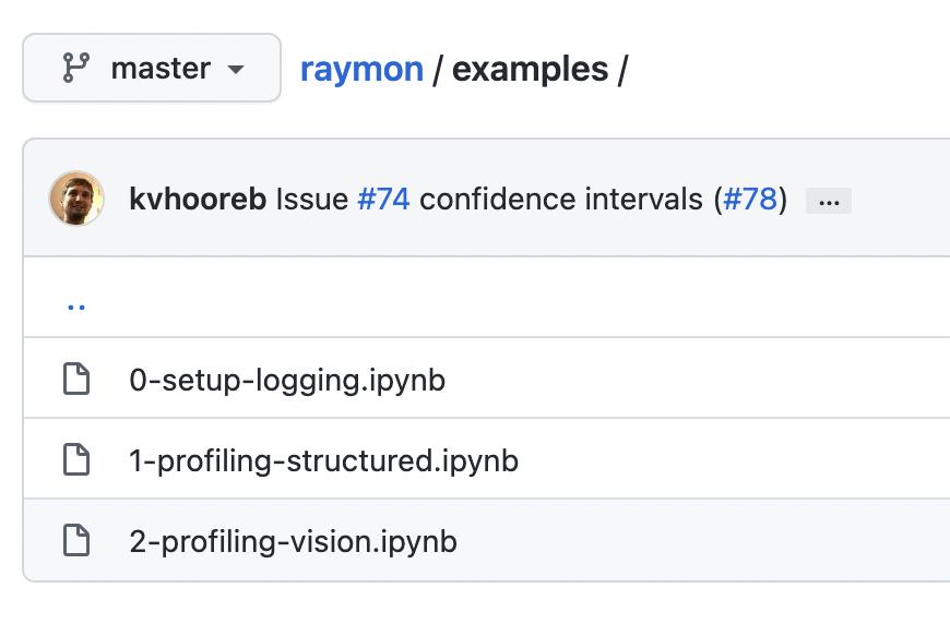 examples Raymon