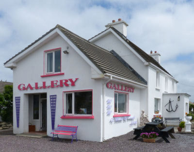 It Must Be Dingle! Gallery in  Gortadubha, Ballyferriter, on the Slea Head Drive