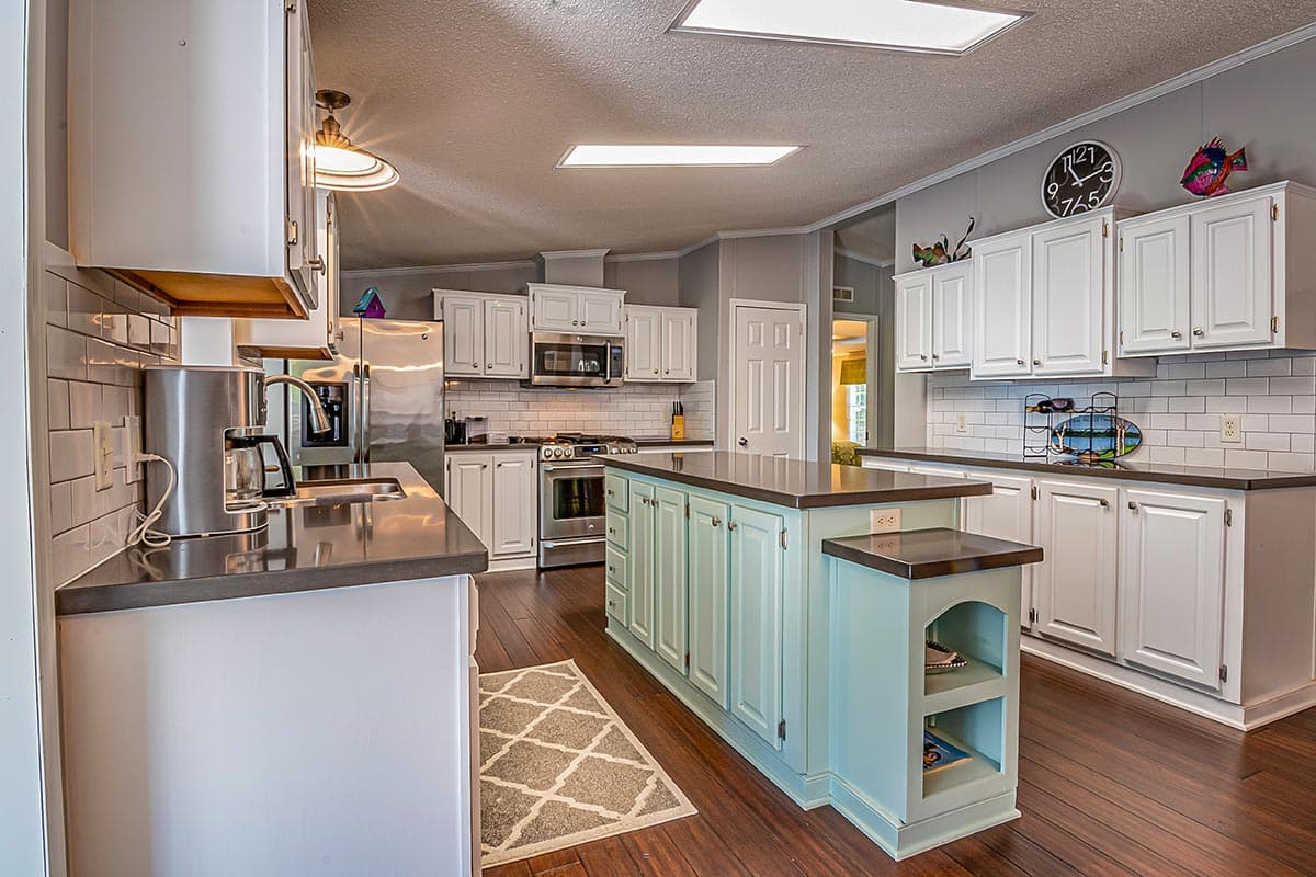 A nice Kitchen in a remodeled home