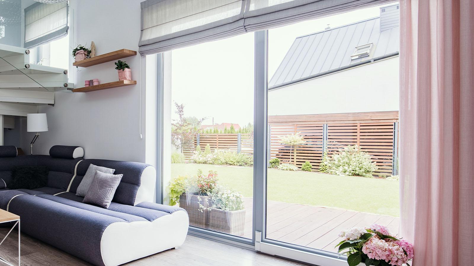 Kunststofffensteranlage zur Veranda