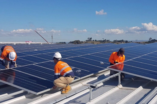 Solar PV for Main Roads Engineering Branch