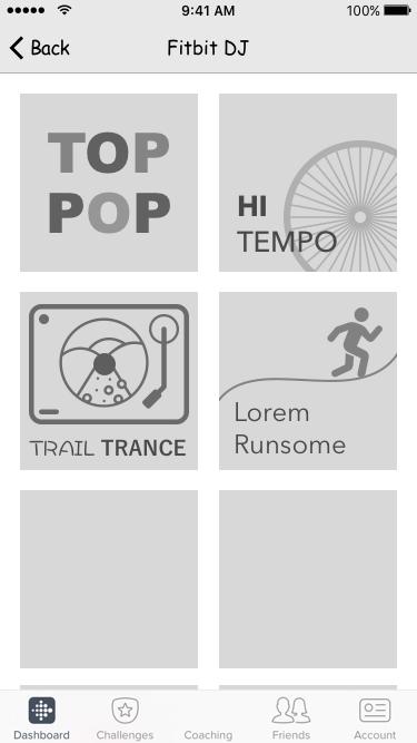 Fitbit Radio Stations