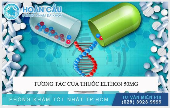 Tương tác của thuốc Elthon 50mg
