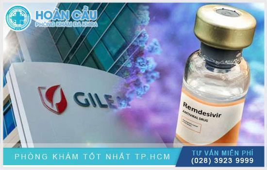 Remdesivir (GS-5734) là sản phẩm được phát triển bởi Gilead Sciences
