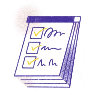 Custom checklists for your business