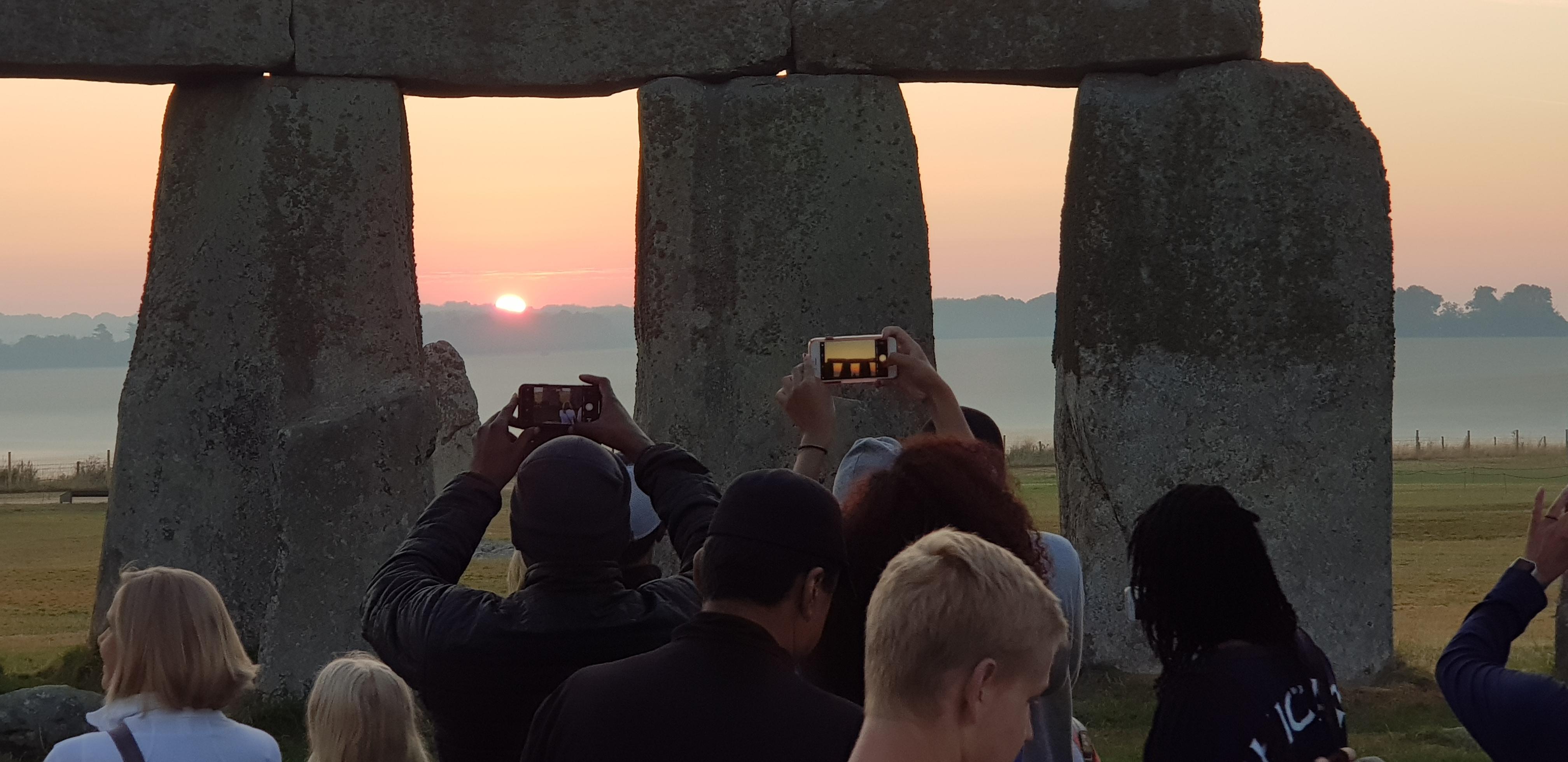 Stonehenge Private Access Sunset Tour.  A unique photo opprtunity