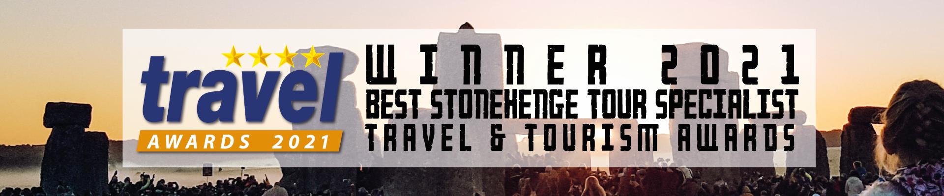 VOTED BEST STONEHENGE TOUR OPERATOR 2021