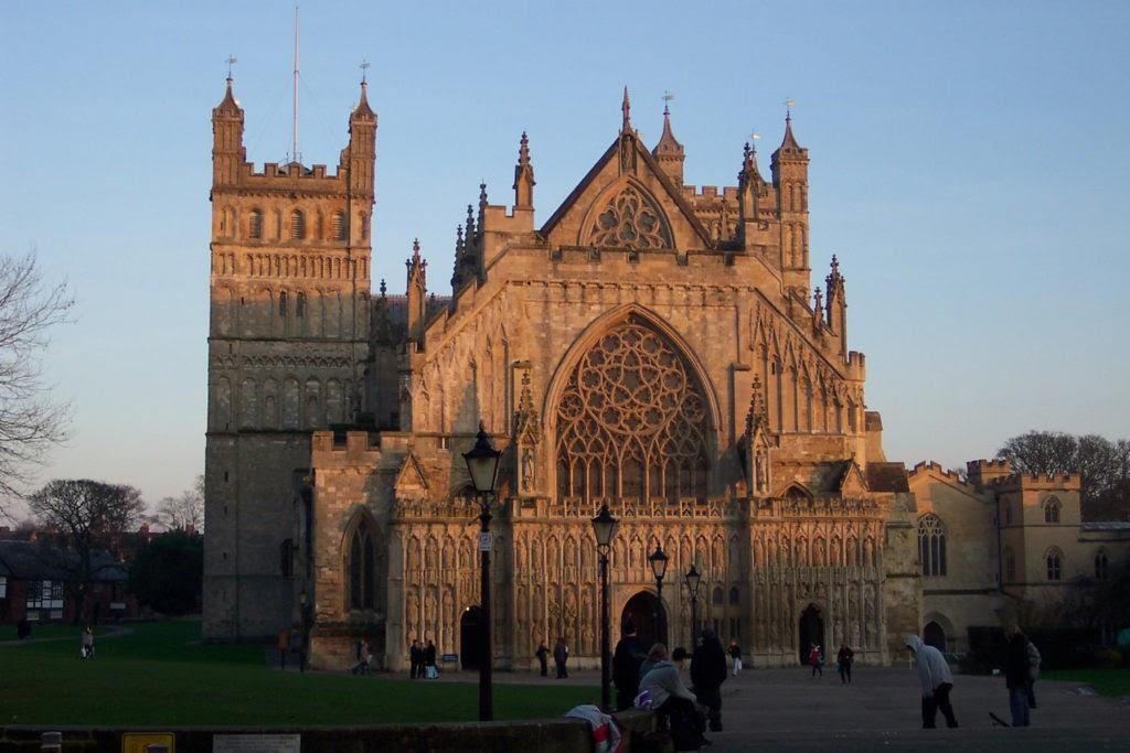 Katedralen i Exeter