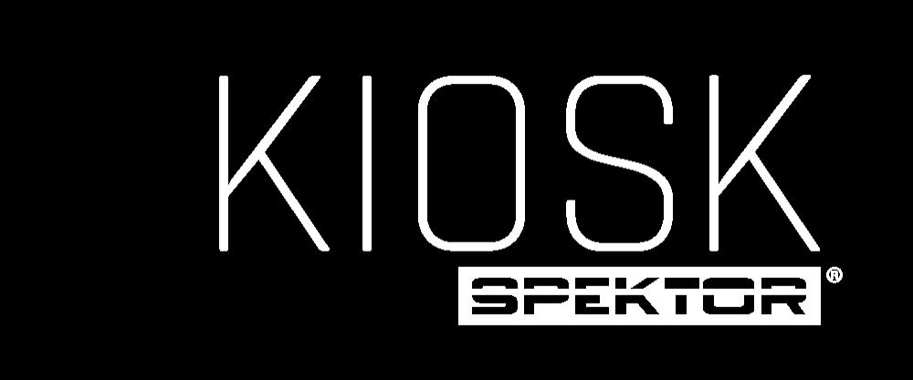 Kiosk Spektor white