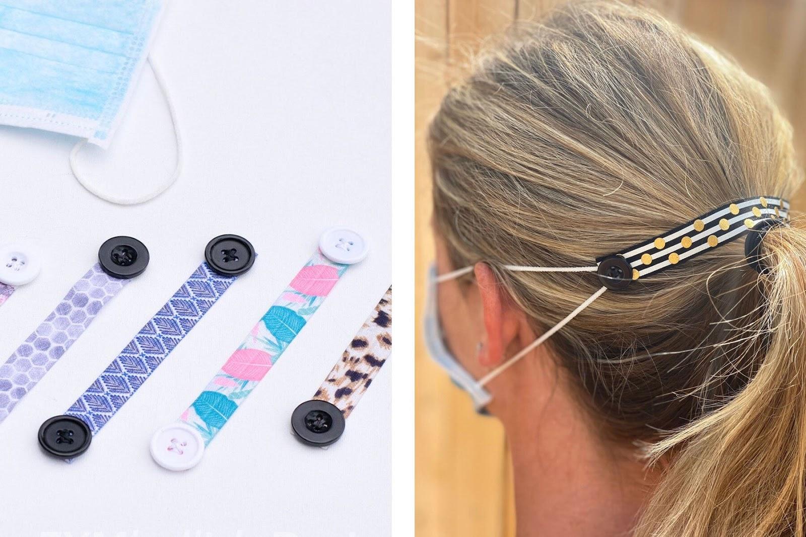 Face mask headband ear saver