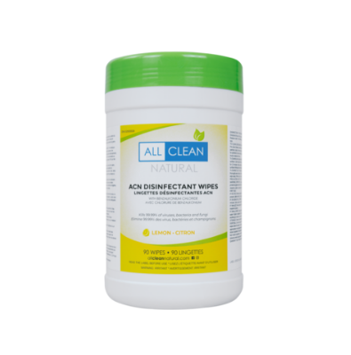 Lemon Disinfectant Wipes