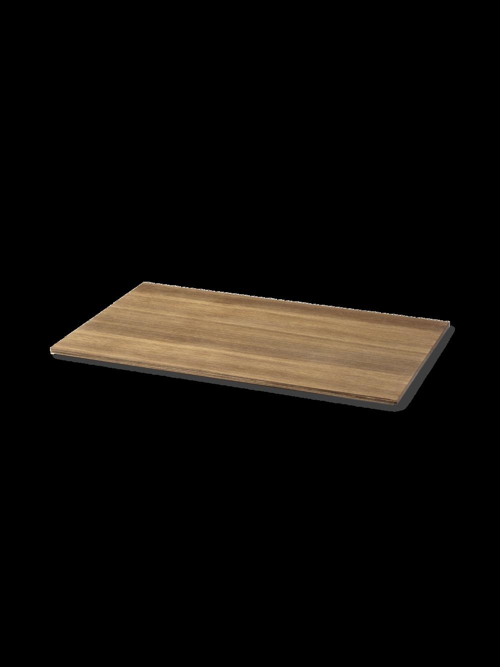 Tray for Plant Box Large - Wood Smoked Oak