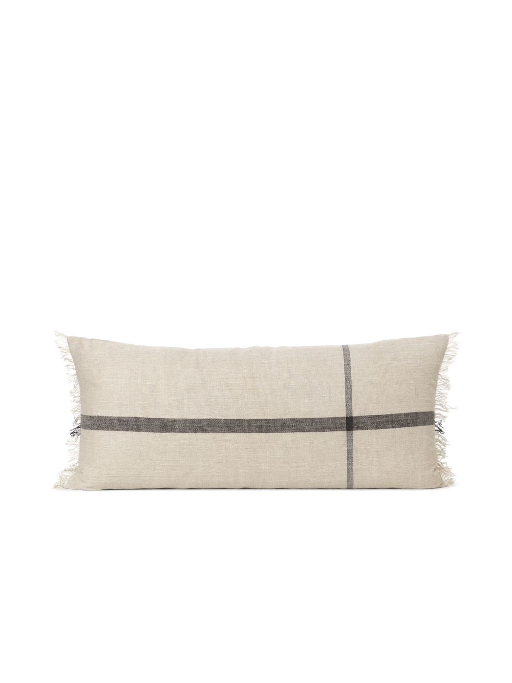 Calm Cushion - Camel/Black 40x90