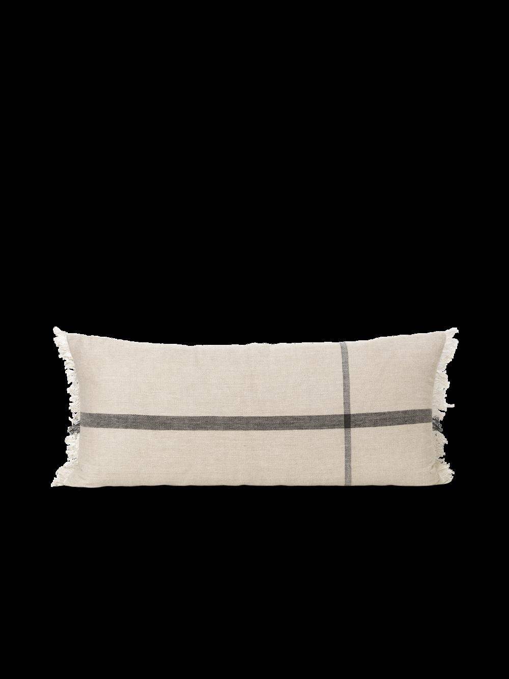 Calm Cushion - Camel/Black 40x90
