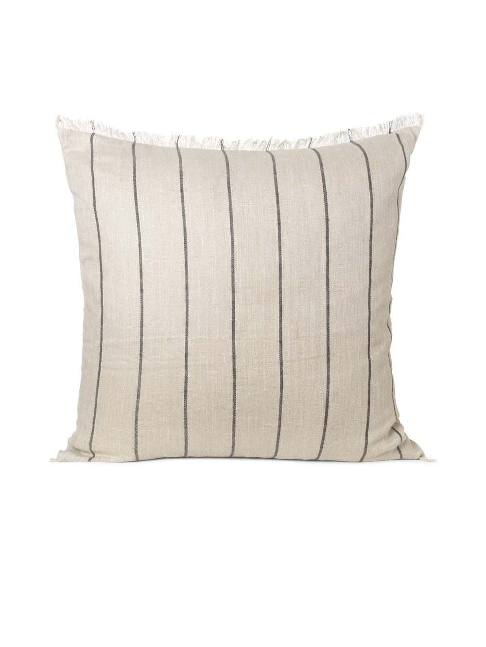 Calm Cushion - Camel/Black 80x80