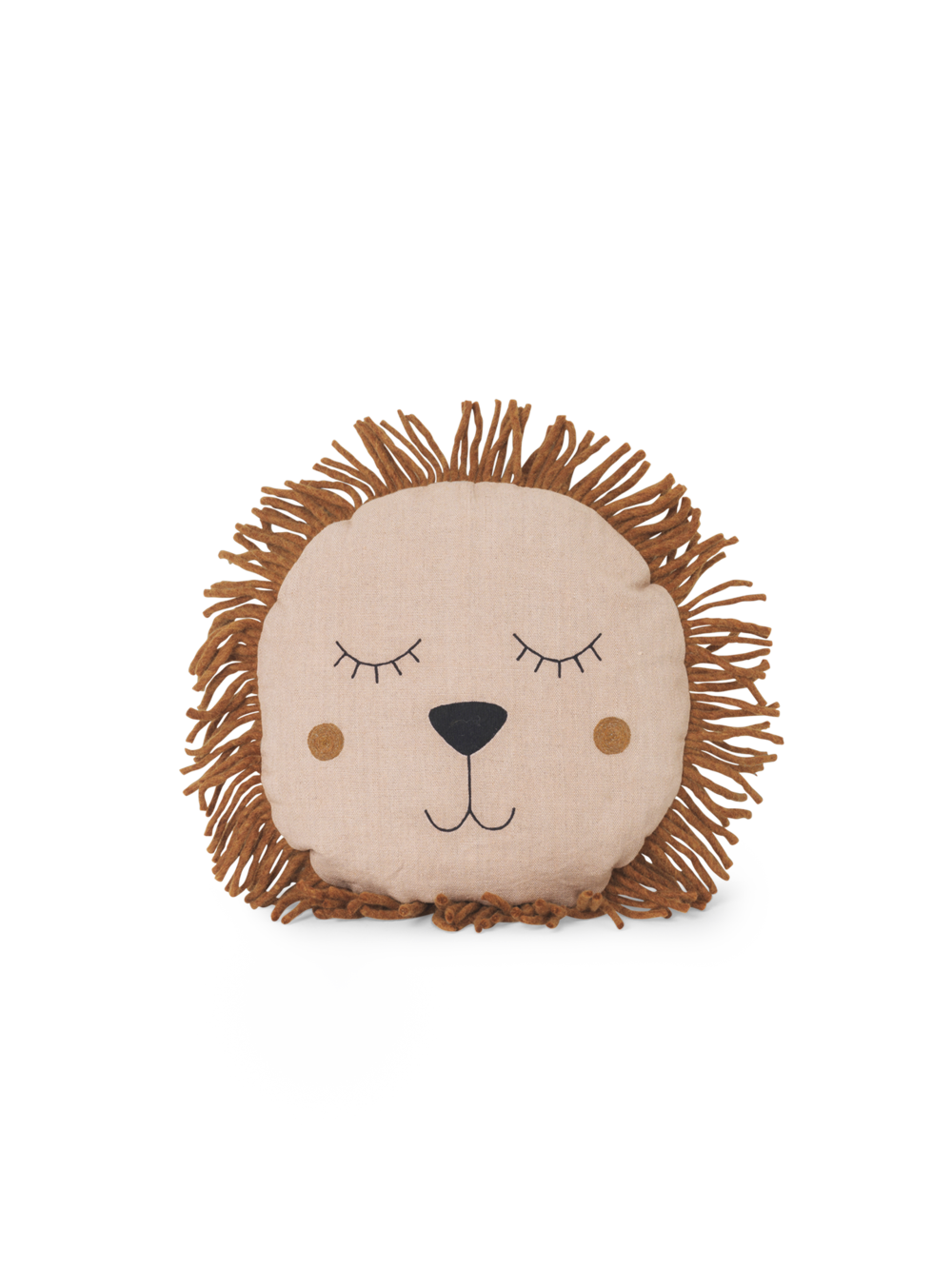 Safari Cushion - Lion Rose