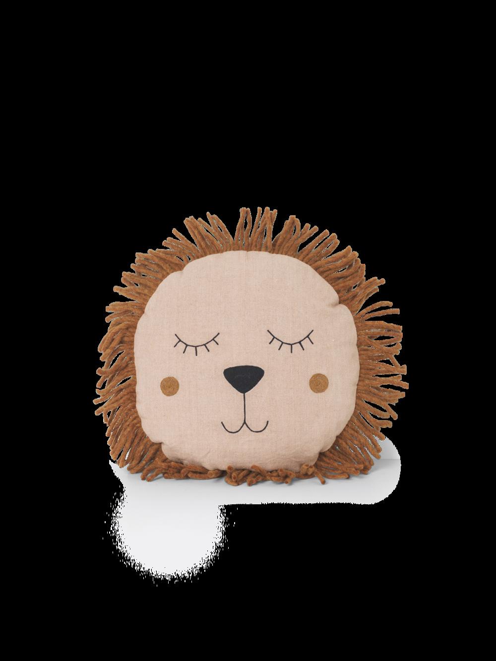 Safari Cushion - Lion Rose