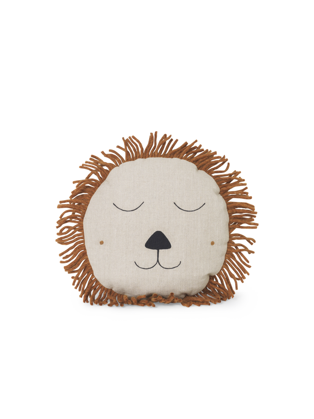 Safari Cushion - Lion Natural