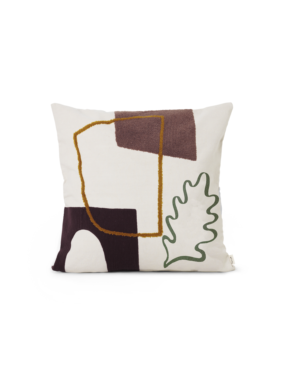 Mirage Cushion Leaf