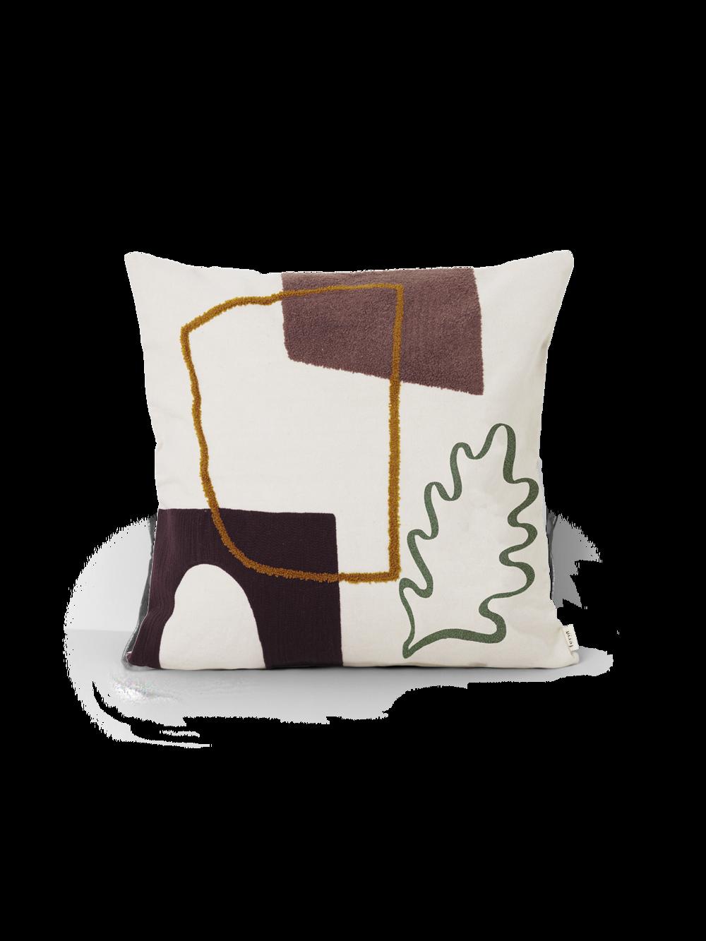 Mirage Cushion Leaf