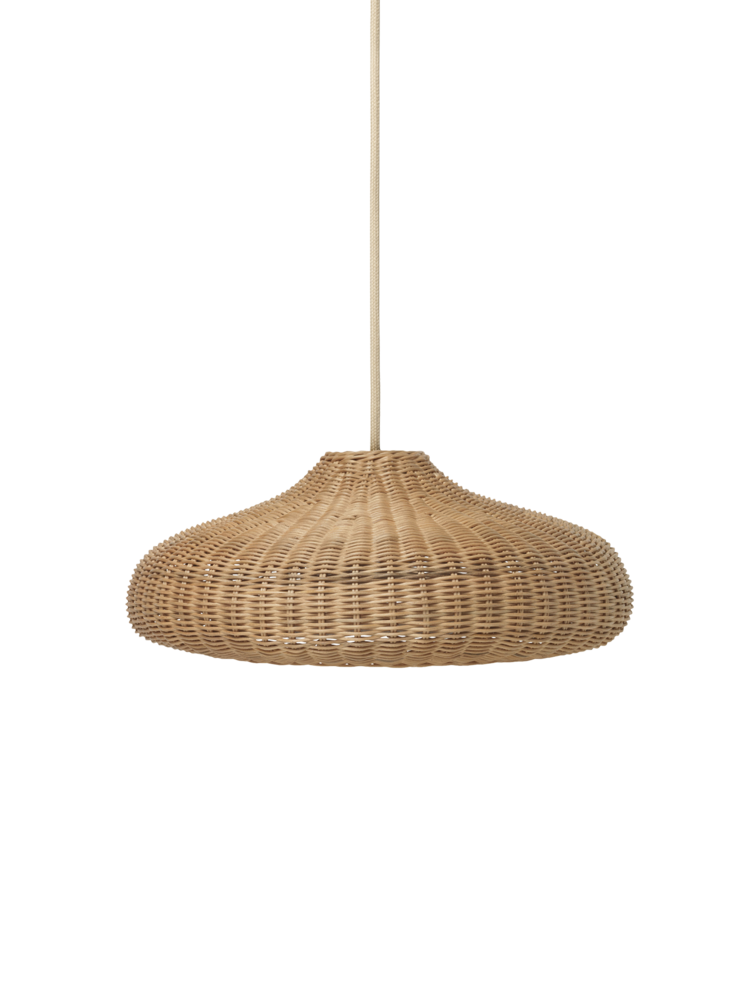 Braided Lamp Shade Natural