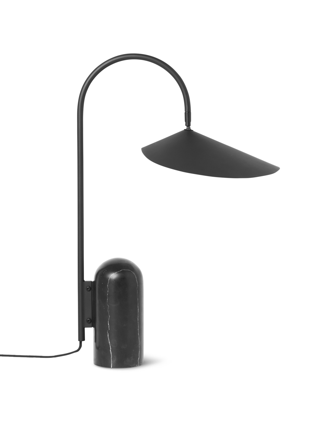 Arum Table Lamp Black
