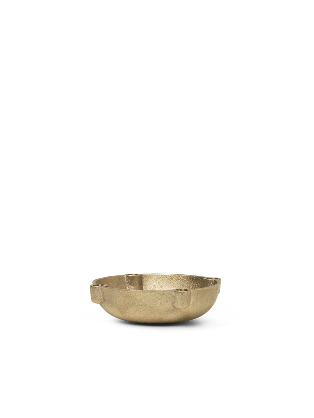 Bowl Candle Holder - Brass - Small