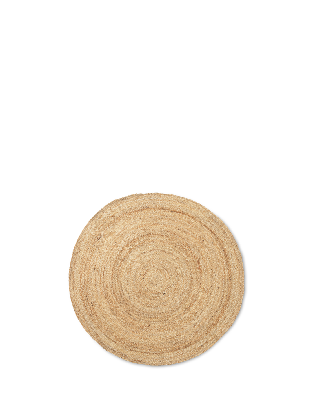Eternal round Jute Rug Small - Natural