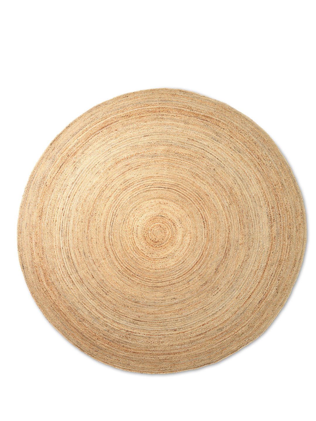Eternal Round Jute Rug Large - Natural
